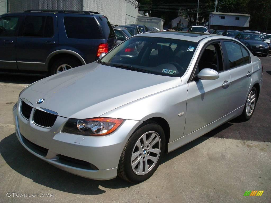 2006 Titanium Silver Metallic Bmw 3 Series 325xi Sedan