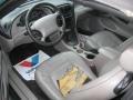2001 Tropic Green metallic Ford Mustang V6 Convertible  photo #7