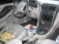 2001 Tropic Green metallic Ford Mustang V6 Convertible  photo #9