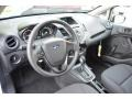 Charcoal Black Prime Interior Photo for 2015 Ford Fiesta #98105123