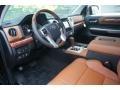 1794 Edition Premium Brown Leather Prime Interior Photo for 2015 Toyota Tundra #98109386