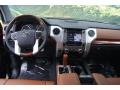 1794 Edition Premium Brown Leather Dashboard Photo for 2015 Toyota Tundra #98109433