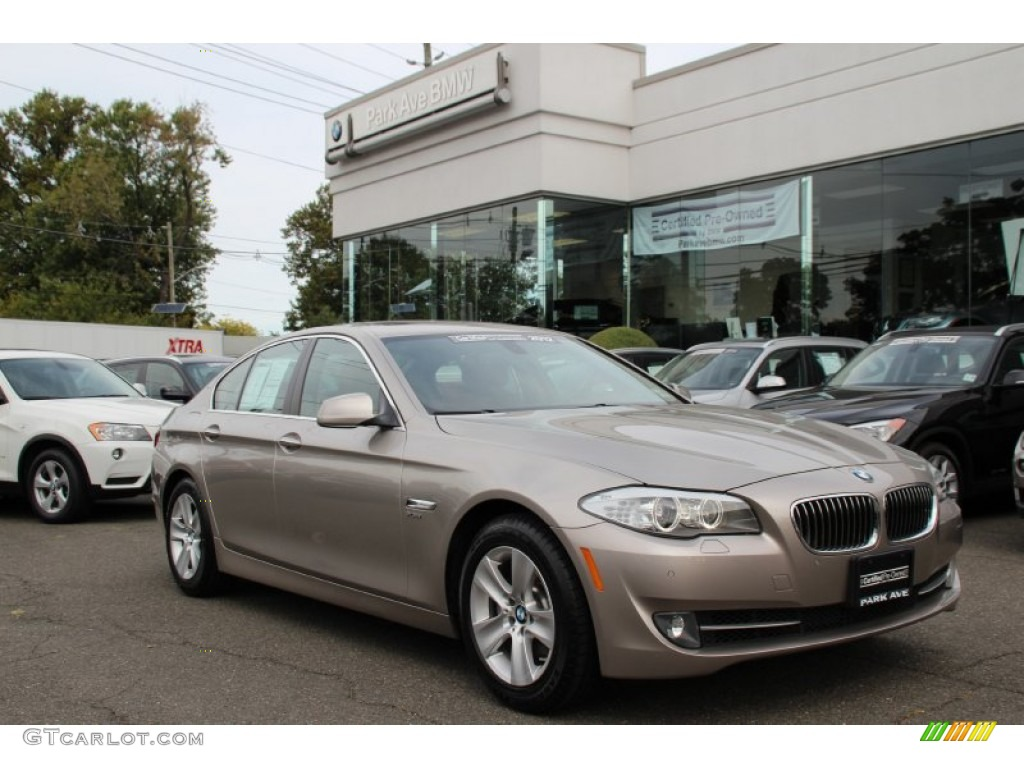 2012 cashmere silver metallic bmw 5 series 528i xdrive. Black Bedroom Furniture Sets. Home Design Ideas