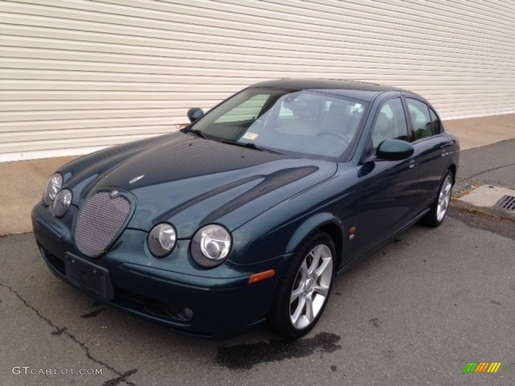 2003 jaguar racing green jaguar s type r 98149992. Black Bedroom Furniture Sets. Home Design Ideas