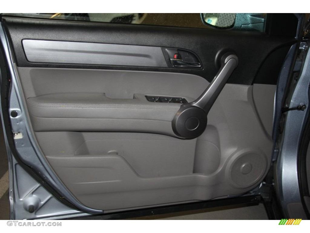 2009 CR-V EX-L 4WD - Glacier Blue Metallic / Black photo #5