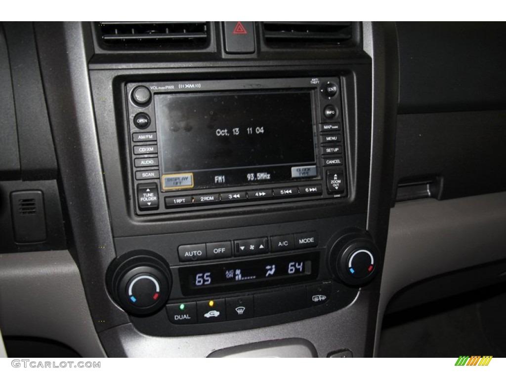 2009 CR-V EX-L 4WD - Glacier Blue Metallic / Black photo #15