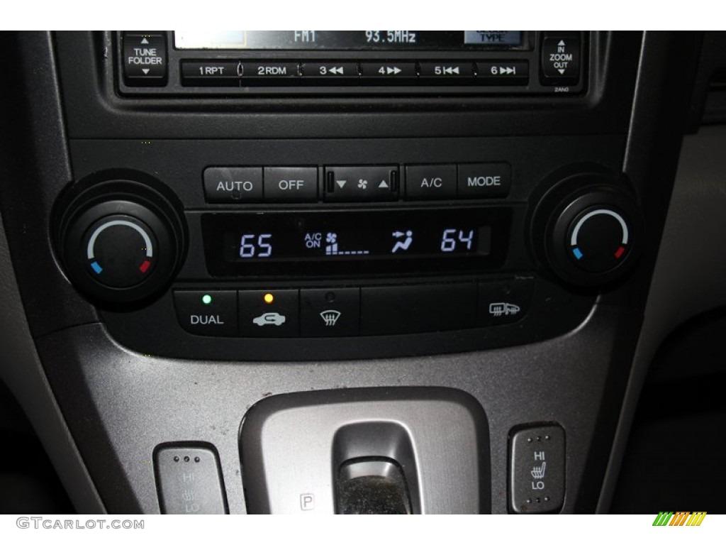 2009 CR-V EX-L 4WD - Glacier Blue Metallic / Black photo #16