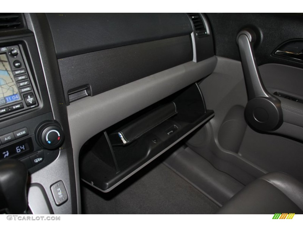 2009 CR-V EX-L 4WD - Glacier Blue Metallic / Black photo #19