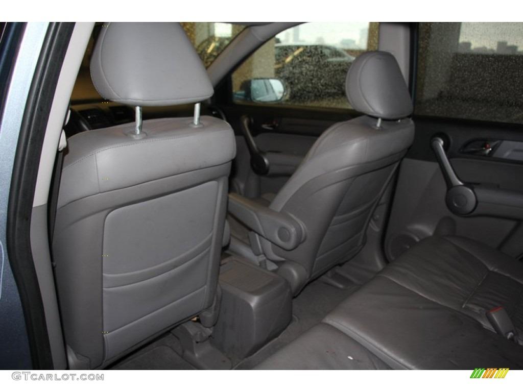 2009 CR-V EX-L 4WD - Glacier Blue Metallic / Black photo #22