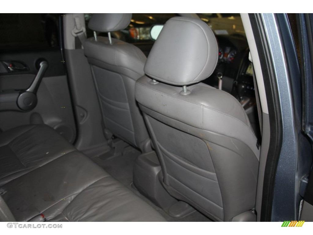 2009 CR-V EX-L 4WD - Glacier Blue Metallic / Black photo #28