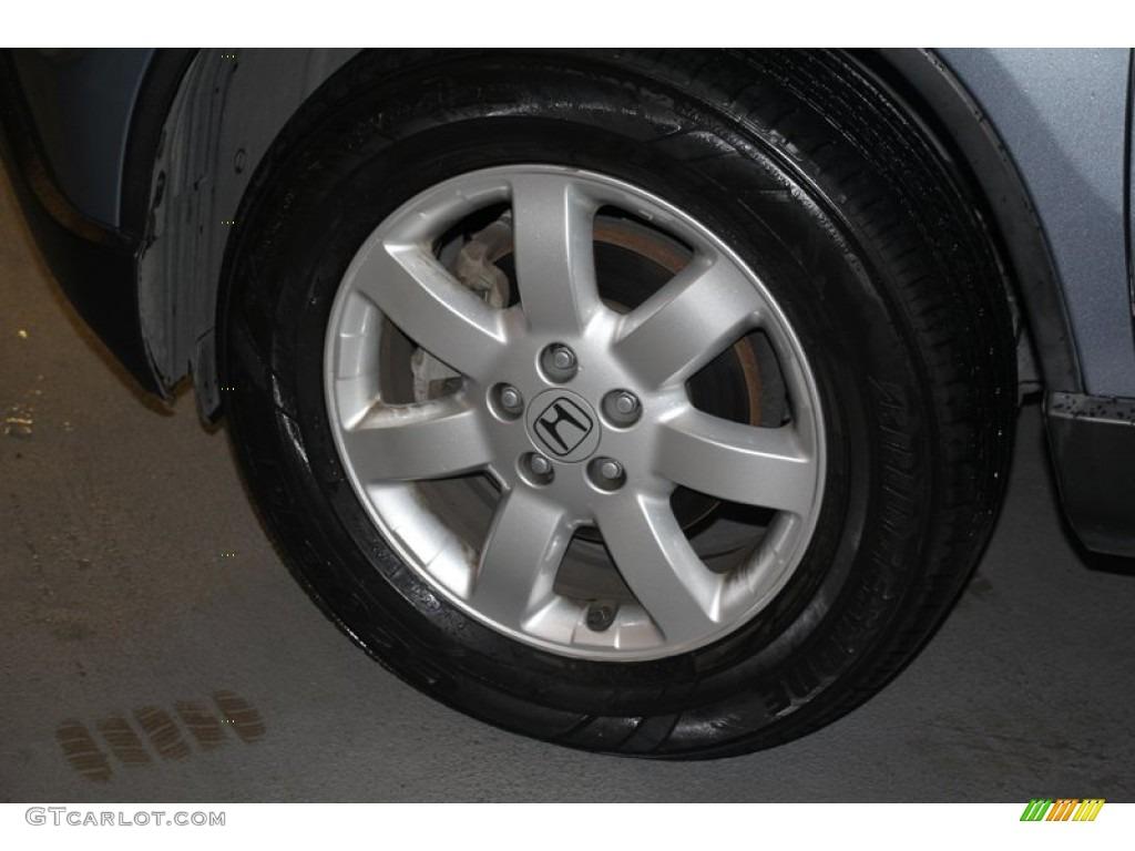 2009 CR-V EX-L 4WD - Glacier Blue Metallic / Black photo #33