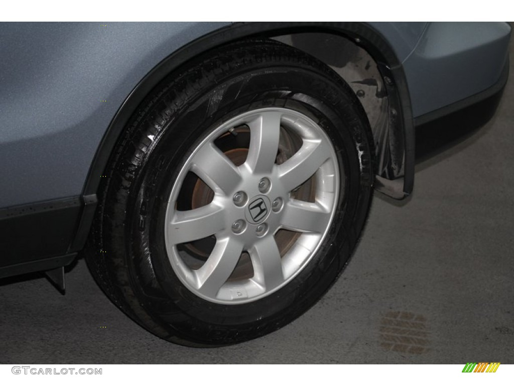 2009 CR-V EX-L 4WD - Glacier Blue Metallic / Black photo #34