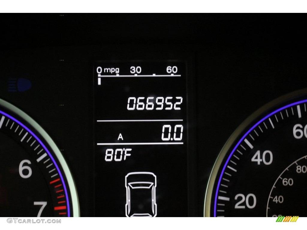 2009 CR-V EX-L 4WD - Glacier Blue Metallic / Black photo #38