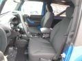 2015 Wrangler Willys Wheeler W 4x4 Black Interior