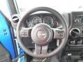 2015 Wrangler Willys Wheeler W 4x4 Steering Wheel