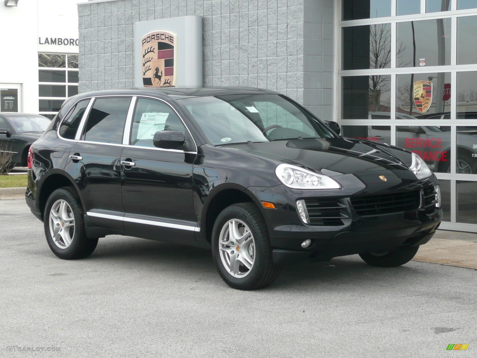2008 porsche cayenne s 2008 porsche cayenne s basalt black metallic black interior interior. Black Bedroom Furniture Sets. Home Design Ideas