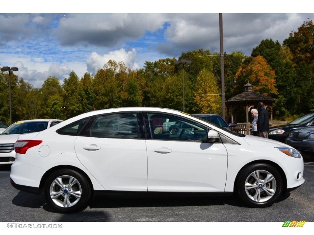 2014 Ford Focus Warranty >> Oxford White 2013 Ford Focus SE Sedan Exterior Photo #98265113 | GTCarLot.com