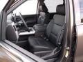 Jet Black Front Seat Photo for 2015 Chevrolet Silverado 1500 #98298955