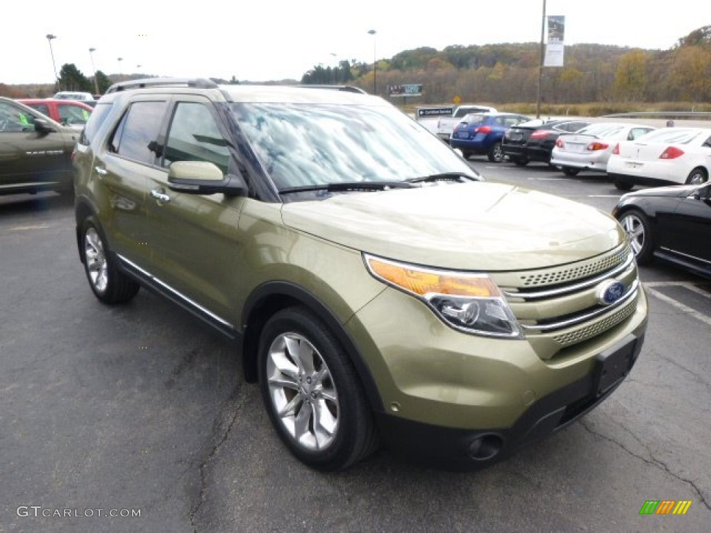Ginger Ale Metallic 2013 Ford Explorer Limited 4WD Exterior Photo #98324400