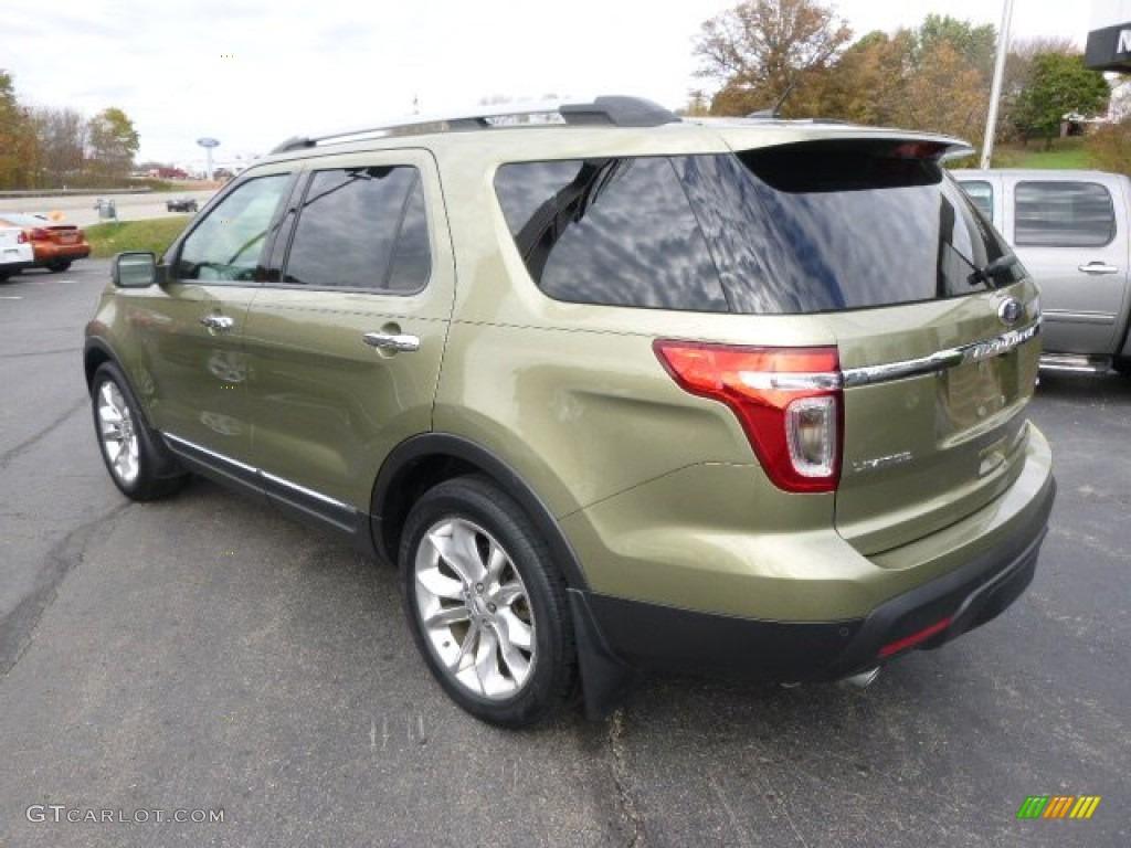 2013 ginger ale metallic ford explorer limited 4wd 98287546 photo 7 car color. Black Bedroom Furniture Sets. Home Design Ideas