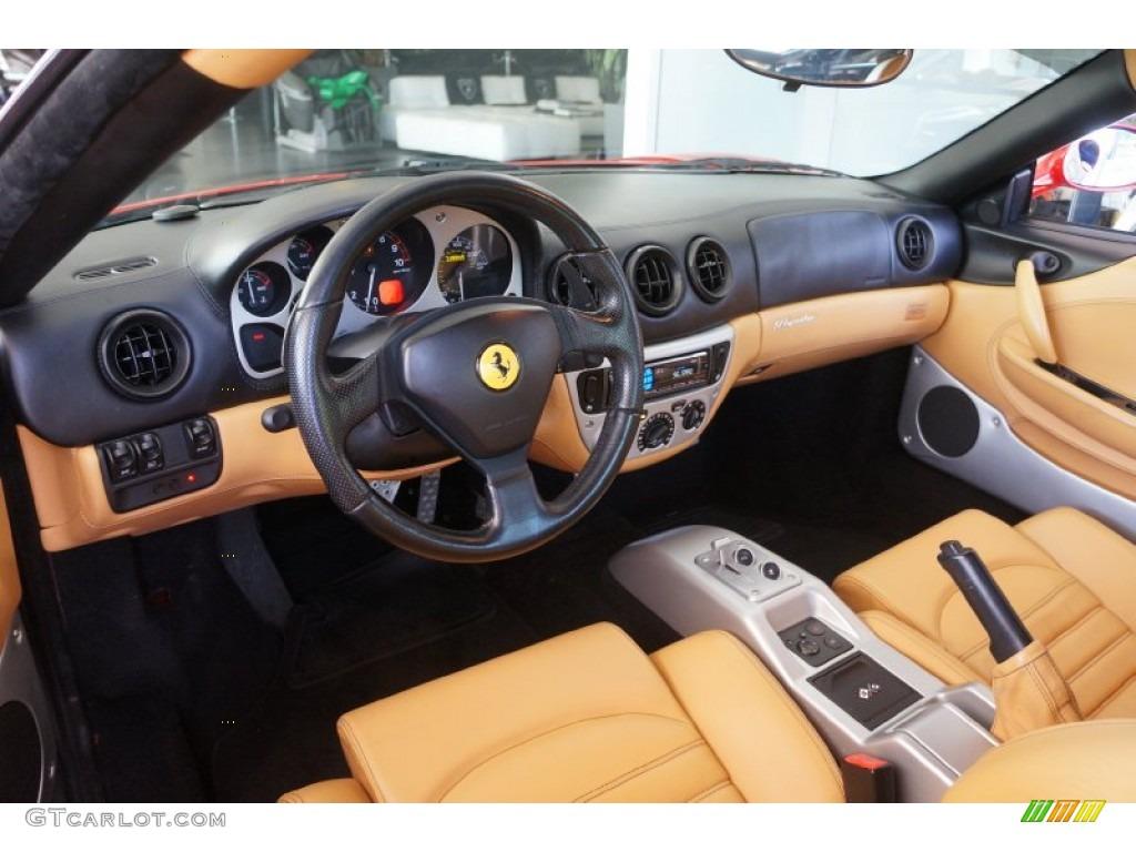 Beige Interior 2003 Ferrari 360 Modena F1 Photo 98337129