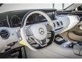Silk Beige/Espresso Brown 2015 Mercedes-Benz S Interiors