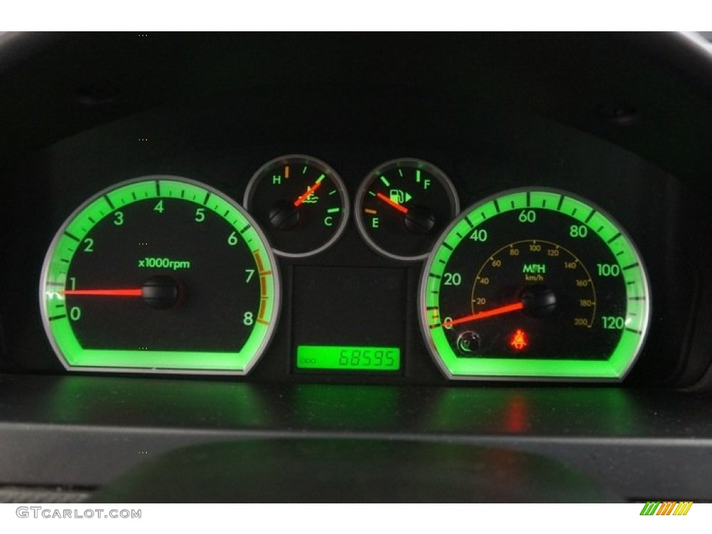 2010 Chevrolet Aveo LT Sedan Gauges Photos