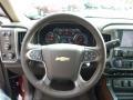 Cocoa/Dune Steering Wheel Photo for 2015 Chevrolet Silverado 1500 #98374224