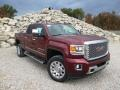 Front 3/4 View of 2015 Sierra 2500HD Denali Crew Cab 4x4