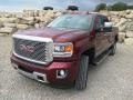 Sonoma Red Metallic - Sierra 2500HD Denali Crew Cab 4x4 Photo No. 2