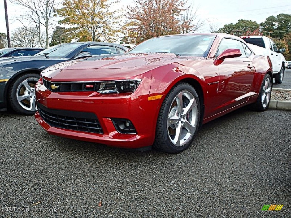 2015 red rock metallic chevrolet camaro ss rs coupe 98384352 car color galleries. Black Bedroom Furniture Sets. Home Design Ideas