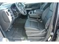 Jet Black Interior Photo for 2015 Chevrolet Silverado 1500 #98404183