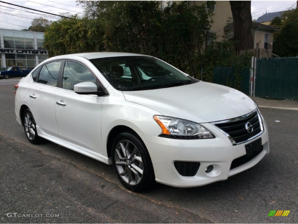 2013 aspen white nissan sentra sr 98384859 photo 7 car color galleries. Black Bedroom Furniture Sets. Home Design Ideas