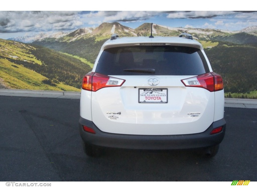 2015 blizzard pearl toyota rav4 limited awd 98384316 photo 4 car color galleries. Black Bedroom Furniture Sets. Home Design Ideas