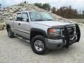 2006 Silver Birch Metallic GMC Sierra 2500HD SLE Extended Cab 4x4  photo #1