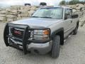 2006 Silver Birch Metallic GMC Sierra 2500HD SLE Extended Cab 4x4  photo #2