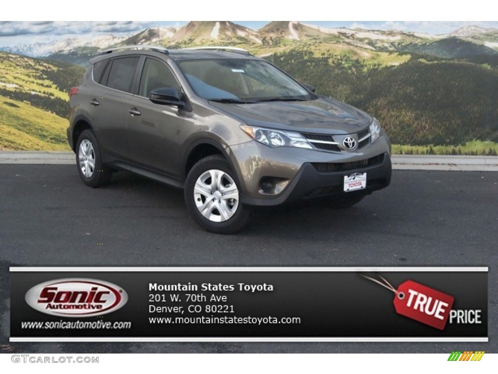 2015 pyrite mica toyota rav4 le awd 98426067 car color galleries. Black Bedroom Furniture Sets. Home Design Ideas