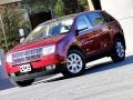 Vivid Red Metallic 2007 Lincoln MKX