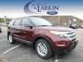 Bronze Fire 2015 Ford Explorer XLT 4WD