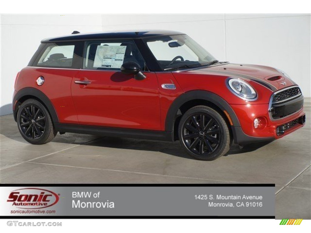 2015 Blazing Red Metallic Mini Cooper S Hardtop 2 Door