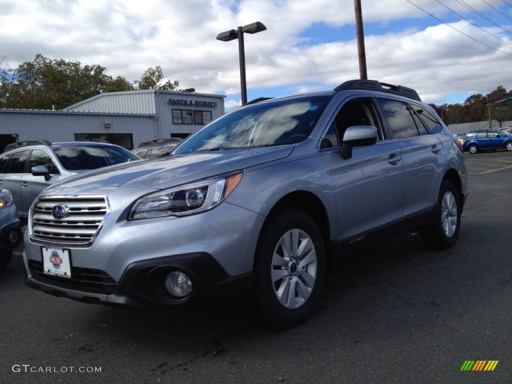Subaru Outback 2017 Colors >> 2015 Ice Silver Metallic Subaru Outback 2.5i Premium #98502530 | GTCarLot.com - Car Color Galleries
