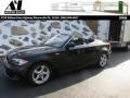 Jet Black 2012 BMW 1 Series 128i Convertible