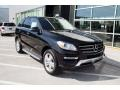 Black 2015 Mercedes-Benz ML 350 4Matic