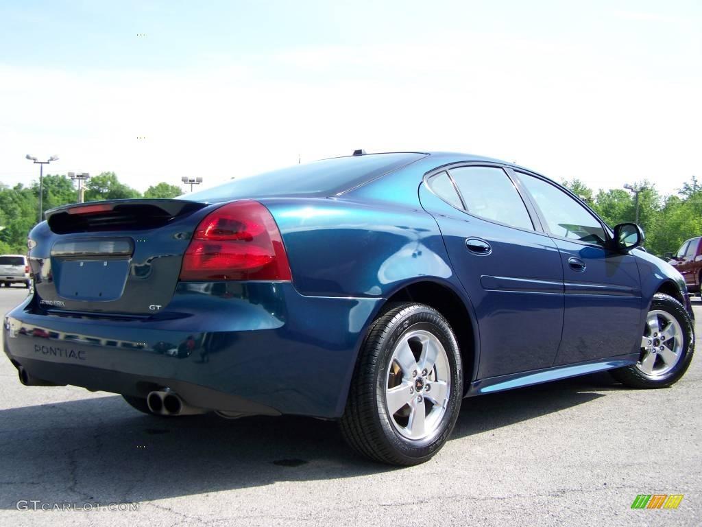 2005 blue green crystal pontiac grand prix gt sedan 9822636 photo 2 car color. Black Bedroom Furniture Sets. Home Design Ideas