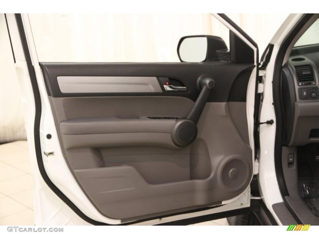 2011 CR-V EX 4WD - Taffeta White / Gray photo #4