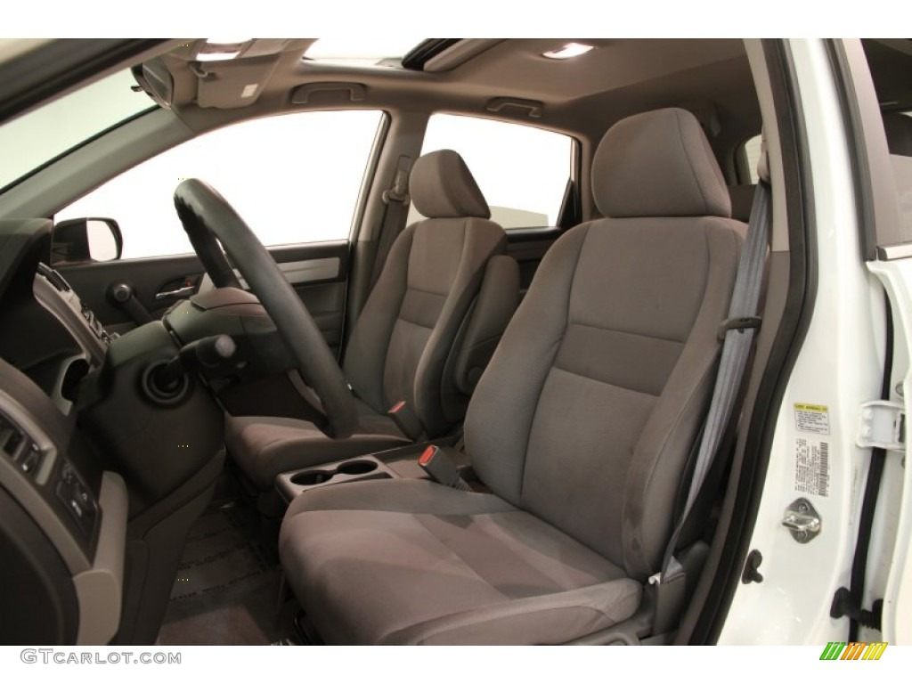 2011 CR-V EX 4WD - Taffeta White / Gray photo #5