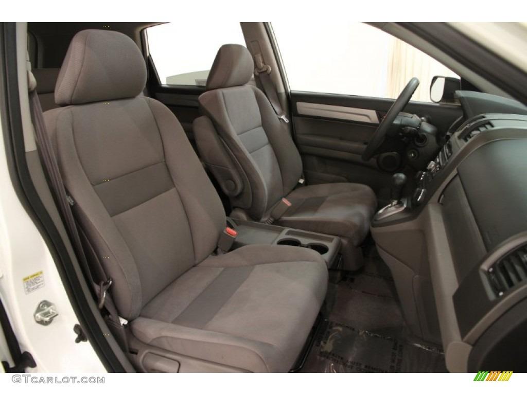 2011 CR-V EX 4WD - Taffeta White / Gray photo #9