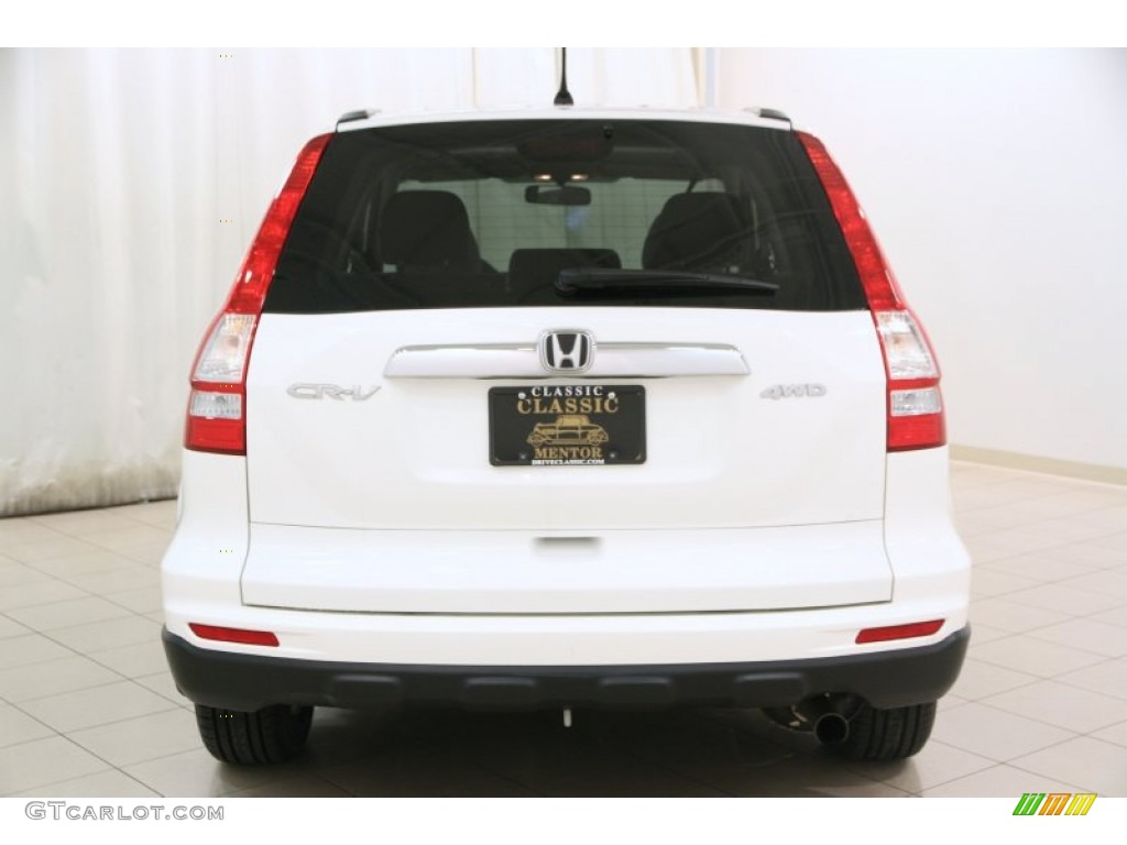 2011 CR-V EX 4WD - Taffeta White / Gray photo #12