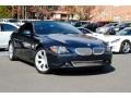 Monaco Blue Metallic 2006 BMW 6 Series 650i Convertible