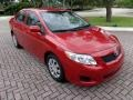 Barcelona Red Metallic 2009 Toyota Corolla Gallery